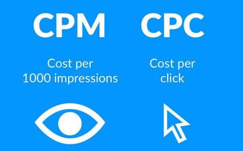 广告计费方式CPC、CPM、CPV、CPD的意思和区别